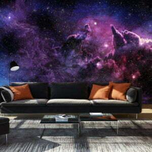 Fototapete - Purple Nebula