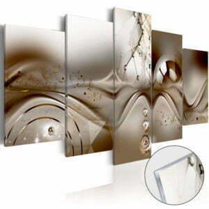 Acrylglasbild - Artistic Disharmony [Glass]