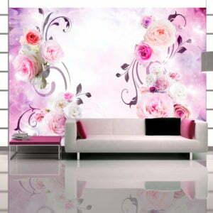 Fototapete - Rose variations