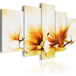 Wandbild - Bernstein Magnolien
