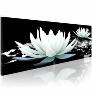 Wandbild - Alabaster lilies