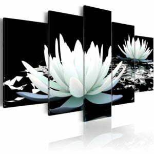 Wandbild - Alabaster reflection