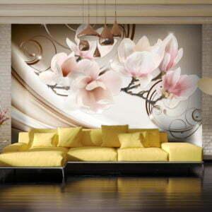 Fototapete - Waves of Magnolia