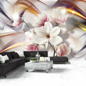 Fototapete - Artistic Magnolias