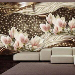 Fototapete - Pearls and Magnolias