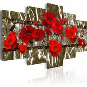 Wandbild - Golden Poppies