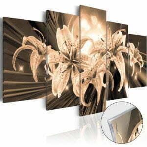 Acrylglasbild - Bouquet of Memories [Glass]