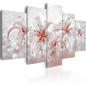 Wandbild - Flowery Saga