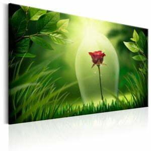 Wandbild - Magical Rose