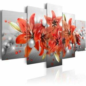 Wandbild - Flowery Battle