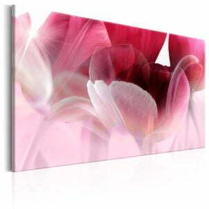 Wandbild - Nature: Pink Tulips
