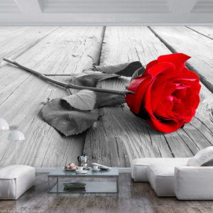 Fototapete - Abandoned Rose