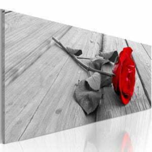 Wandbild - Carmine rose