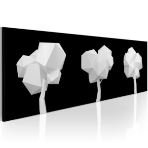 Wandbild - Geometrische Bäume