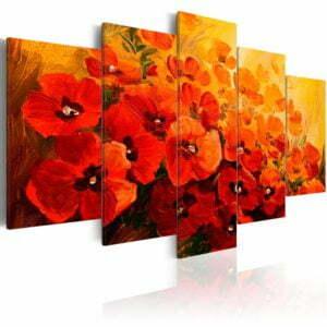 Wandbild - Land of Poppies