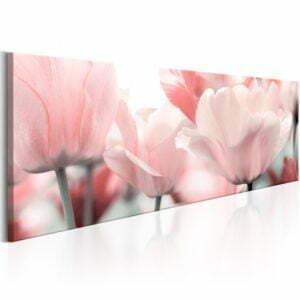 Wandbild - Pink Tulips