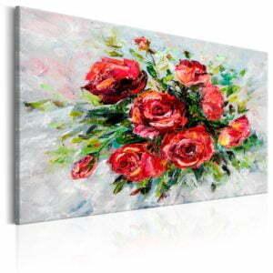 Wandbild - Flowers of Love
