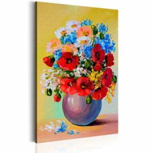 Wandbild - Bunch of Wildflowers