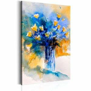 Wandbild - Flowery Artistry