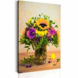Wandbild - Flowery Charm