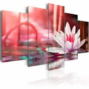 Wandbild - Amaranthine Lotus