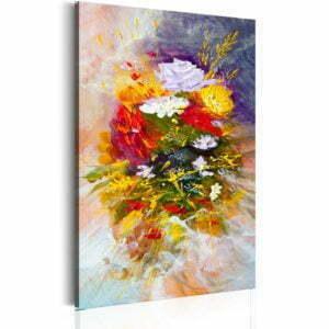 Wandbild - August Flowers