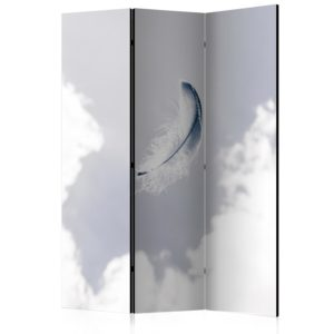 3-teiliges Paravent - Angelic Feather [Room Dividers]