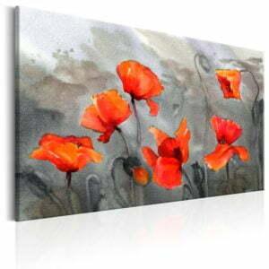 Wandbild - Poppies (Watercolour)