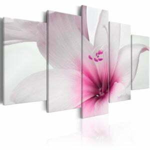 Wandbild - Amarylis: Pink Charm