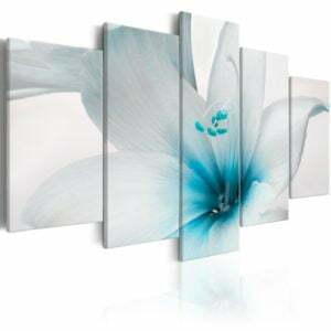 Wandbild - Amarylis: Blue Charm