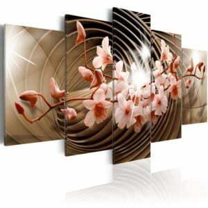 Wandbild - Abstrakte Spiral