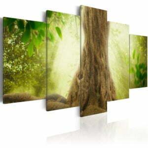 Wandbild - Elves Tree