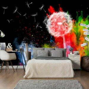 Fototapete - Colourful Element