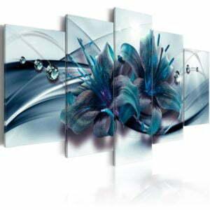 Wandbild - Blue Lily
