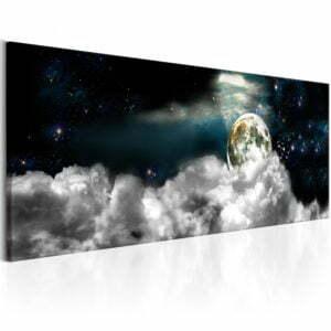 Wandbild - Moon in the Clouds