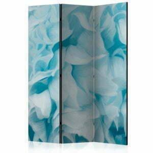 3-teiliges Paravent - Azalea (blue) [Room Dividers]