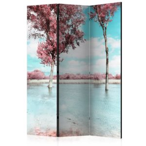 3-teiliges Paravent - Autumn scenery [Room Dividers]