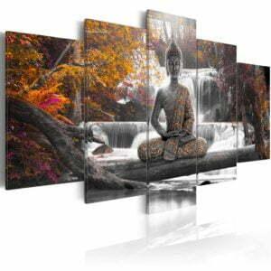 Wandbild - Autumn Buddha