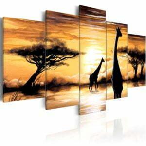 Wandbild - Wild Africa