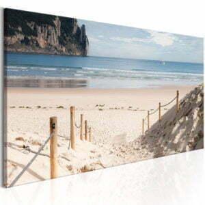 Wandbild - Beach path
