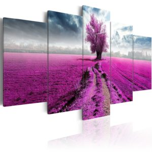 Wandbild - Purple Land