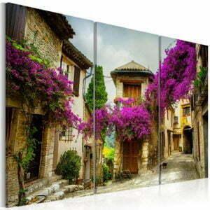 Wandbild - Charming Alley