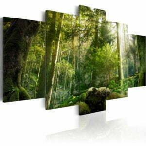 Wandbild -  The Beauty of the Forest