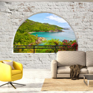 Fototapete -  Emerald Island