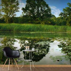 Fototapete - The Magic Pond