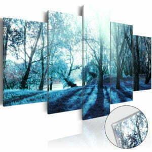 Acrylglasbild - Blue Glade [Glass]