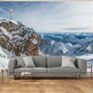 Fototapete - Alpen - Zugspitze