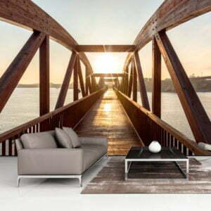Fototapete - Bridge of the Sun
