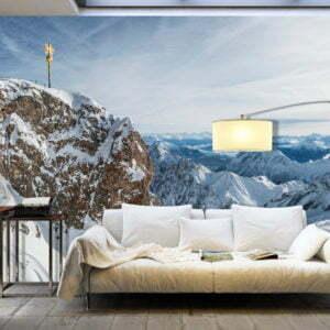 XXL Tapete - Winter in Zugspitze