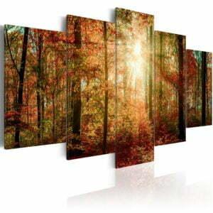 Wandbild - Autumn Wilderness